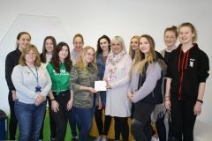 Colchester County High School for Girls raise £464 for CARA!
