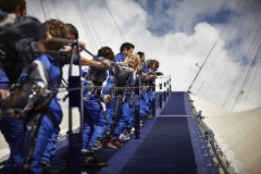 CARA social group are climbing the O2!